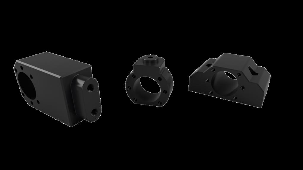 3D gedruckte Flansche und Adapter